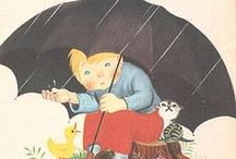 Ilustraciones otoño...lluvias