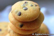 eggless cookies / yummy, drool worthy, Eggless cookies