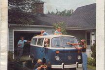 VW Bus Werbeanzeigen