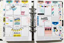 Story Planner Inspiration / A board full of planner inspiration using my monthly Story Planner Collection!