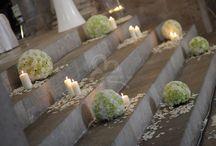 Decorazioni cerimonia di nozze