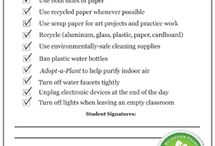 Green Tips for Teachers / by EcoSmart Products