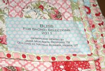 Quilt - Label Examples / Ideas for quilt labels