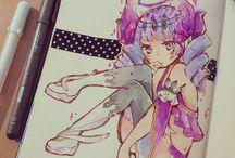 desenhos artes