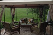 Gazebo \ Outdoor space / by Barb Nash Shanks