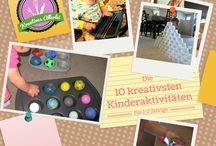 Aktivitäten für Kleinkinder / Angebote für Kinder bis 2 Jahre