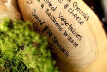 Wood ideas for the wedding / by Teri Erickson