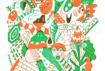 Risograph / A collection of Risograph prints and designs.
