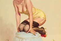 Pin Up & Retro Art / Love all things retro.  / by Erika Lancaster