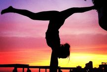 Bord toekomst (yoga inspiration)