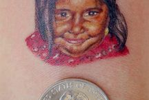 Miniature Color Tattoos