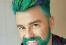 color beard