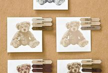 Baby bear stampset