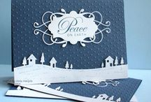 Stampin'UP Sleigh Ride edgelits
