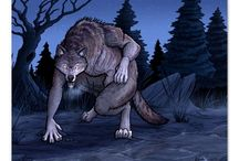 Werewolves / Beware the moon, and stick to the roads - lycanthropes are out hunting tonight.
