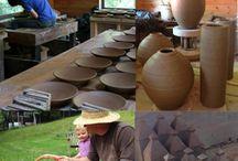 studio trabalho organização / ceramicas