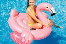 Floats pink птицы 1