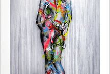 martin whatson the cover up hand finished print