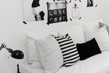 BLACK AND WHITE SPACE / winning color combo  / by jennifer schoenberger