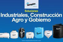 Soluciones rotoplas / Soluciones Industriales, Construcción, Agro y Gobierno Productos Rotoplas Lada sin costo 01 800 0016 500 http://www.distribuidornacional.com/