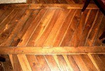 Limpieza piso madera