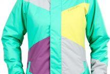 Zimní kabáty a bundy / Zimní móda