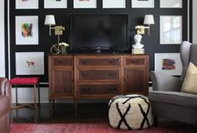 {Styling: TV Gallery Wall}