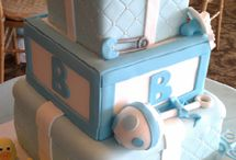 Babyshower cakes and games