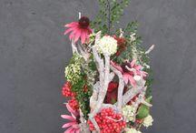 Zijdenbloemen arrangementen