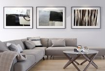 Home Decor / Artist Lane's Art work in home and living areas