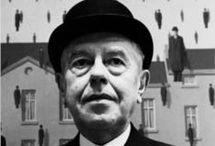 Rene Magritte 1898-1967 / Belgisk - Surrealistisk kunstner, tegninger, malerier, noen skulpturer, skrifter