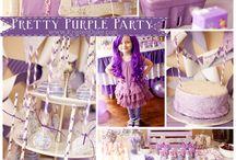 Abigail's 3rd birthday / Purple Diamond Party