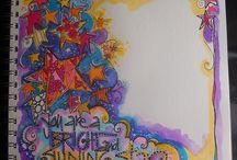Zentangle * Zendoodles * Doodles (2) / by *Svet*Lana*