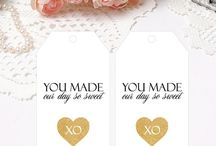 Digital Tags & Labels by Papier Couture