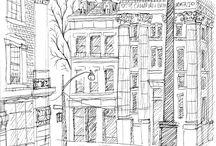 Zeichnungen, Skizzen, Illustration etc.