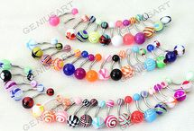 Belly bars / Loads of pretty belly bars
