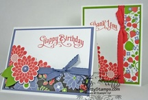 DSP - Berry Blossoms - Stampin' Up