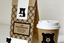 Coffee shops branding