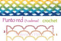 punto Red crochet