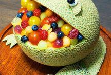 frutas y vegetales decoración