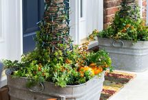 {DIY Outdoor Curb Appeal} / Project you can do easily and cheaply to give your home some extra curb appeal.