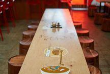 Дизайн / Идеи для оформления зала кафе
