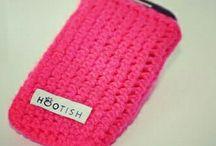 Crochet phoneholder