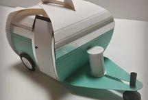 Papercrafts - camper
