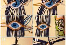 Makrameearmbänder