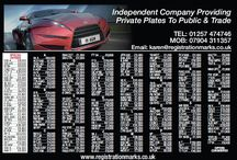 Oct Specials & New Advert / Reg plates on offer plus new advert with many number plates for sale