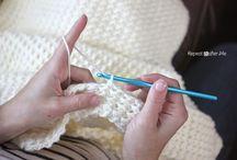 crochet moss stitch