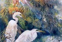 Watercolor Art / Beautiful Watercolor Art by Lian Quan Zhen and others