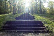 222 schodů / Krnov Cvilín u kostela