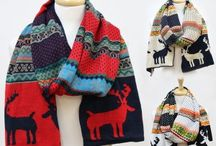 Scarves for Chilly Winter Days / Fun and Gorgeous Winter Scarf MUST Haves